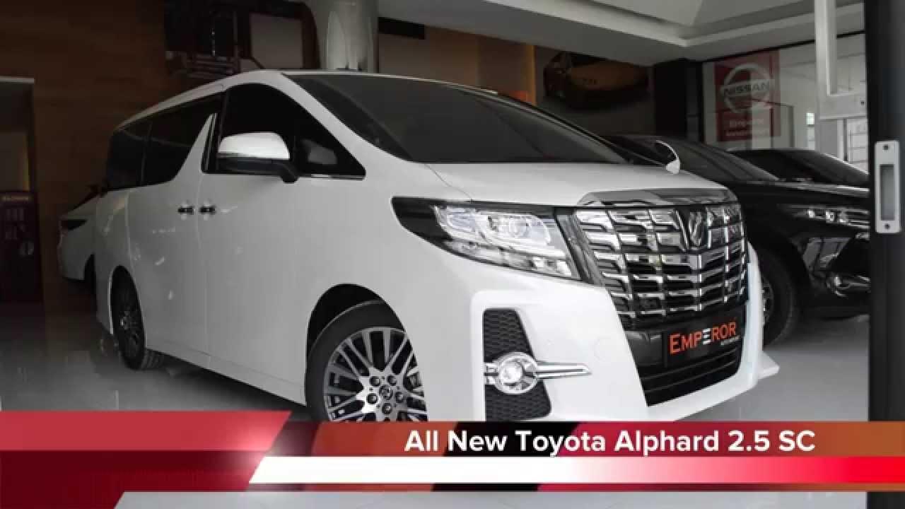 7cf3b4d297 Review All New Toyota Alphard 2.5 SC แบบเต็มๆ ทุกมุมของตัวรถ ก่อนใคร ...