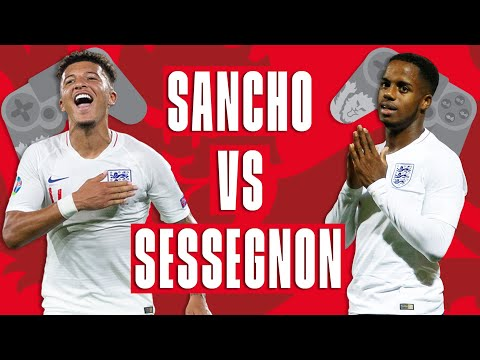 Sancho Vs Sessegnon Semi Final 2 The Footballsstayinghome Cup England Fifa Tournament Youtube