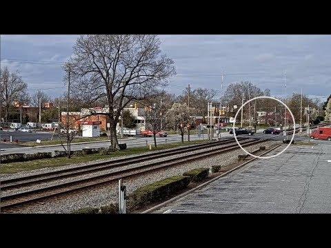 Thomasville - Car on Tracks!