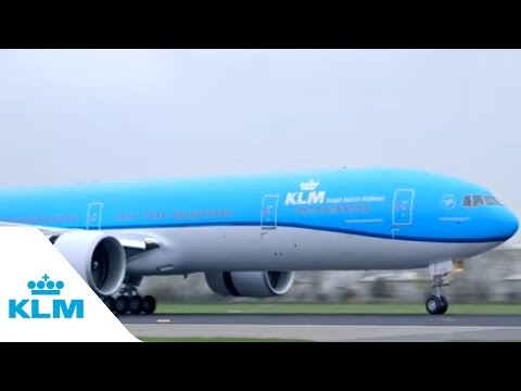 KLM's newest Boeing 777-300