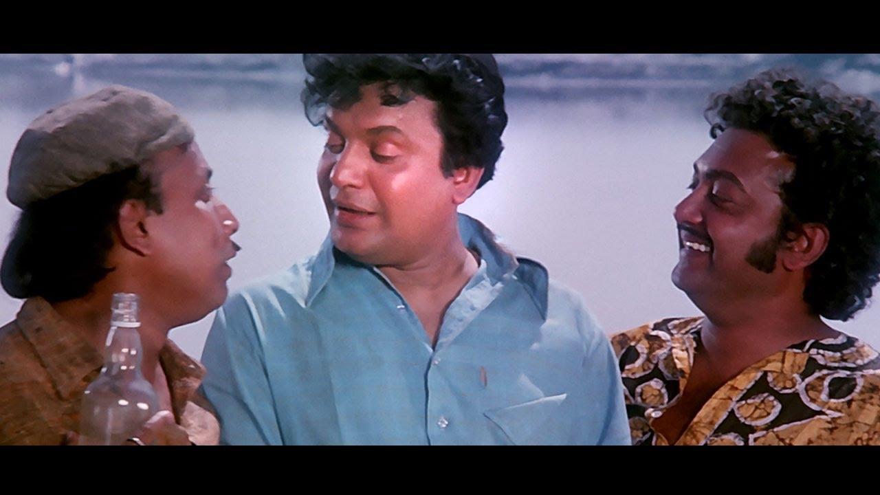 ना पूछो कोई हमें ज़हर क्यूँ पी लिया 4K - किशोर कुमार - अमानुष - उत्तम कुमार