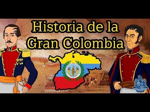 Historia De La Gran Colombia Historia Bully Magnets Youtube