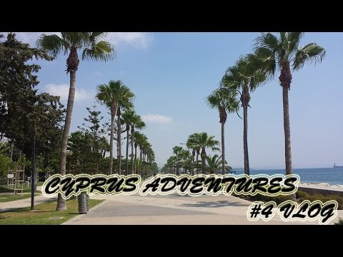 VLOG | TRAVELLING TO CYPRUS. PART 4 | CITY CENTRE. SEAFRONT PROMENADE. GUABA BEACH BAR.