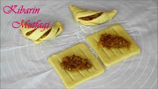 Elmalı kafes kurabiye tarifi - Elmalı cevizli farklı şekilli kurabiye yapılışı - Kurabiye tarifleri