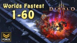 Diablo 3 - Worlds Fastest Solo Power Leveling Trick