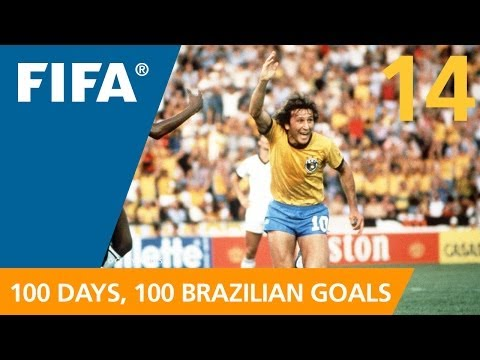 100 Great Brazilian Goals: #14 Zico (Spain 1982)