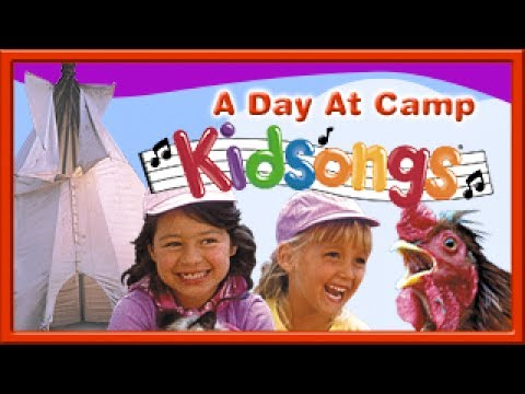 A Day at Camp part 3 by Kidsongs | Hokey Pokey | The Saints Go Marching | Kids Camp Songs | PBS Kids