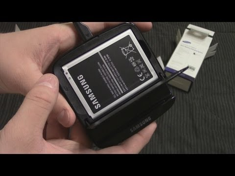 Unboxing: Samsung Galaxy Note 2 Spare Battery Charger
