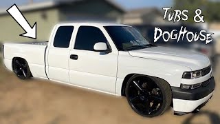 My Daily Truck Gets Tubs & Doghouse