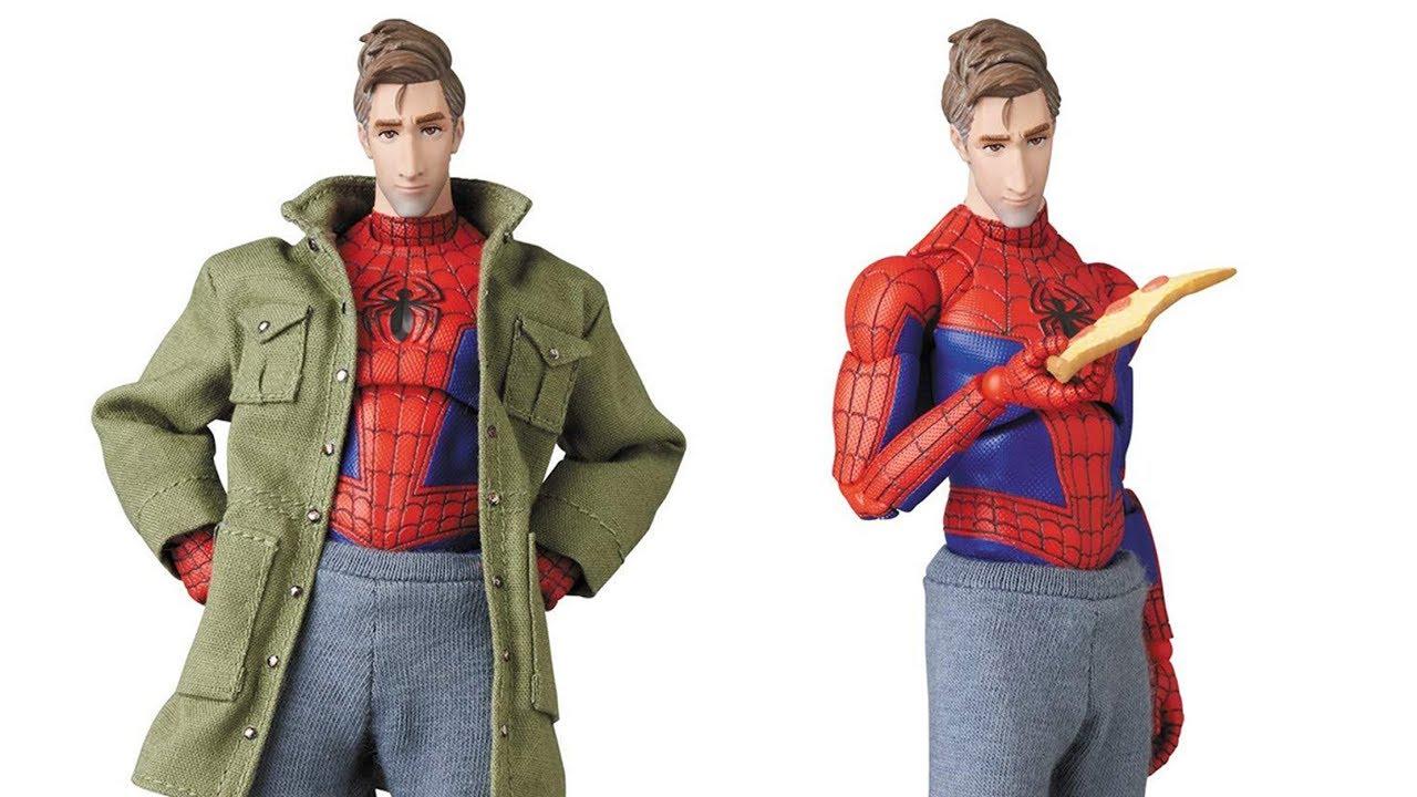 MAFEX Spider-Man Peter B. Parker