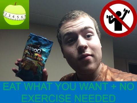 HOW TO LOSE 30 POUNDS FAST WITHOUT EXERCISE + EAT WHAT YOU WANT!!!