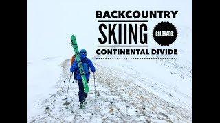 Backcountry Skiing Colorado: Continental Divide