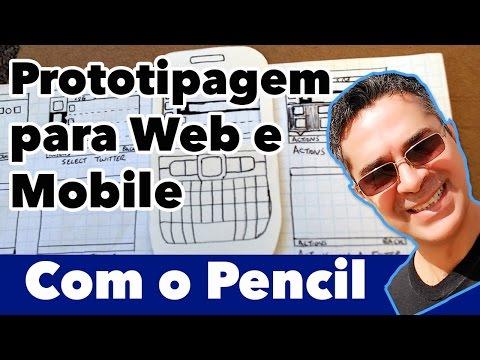 Prototipagem Para Projetos Web E Mobile. Conheça O Pencil!
