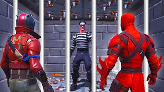 BREAK Him Out Of PRISON Before He DIES! (Fortnite)