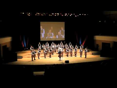 SFU Pipe Band Hold On and The High Drive Belfast 2...