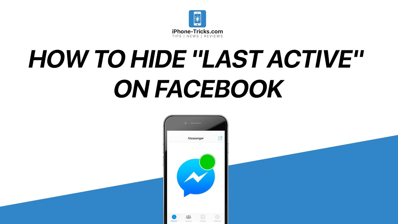 How to hide last active on facebook messenger youtube buycottarizona