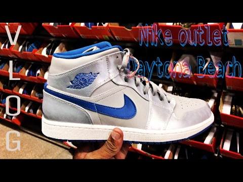 a84c137365042d Day Trip to Daytona Beach Nike Outlet - YouTube
