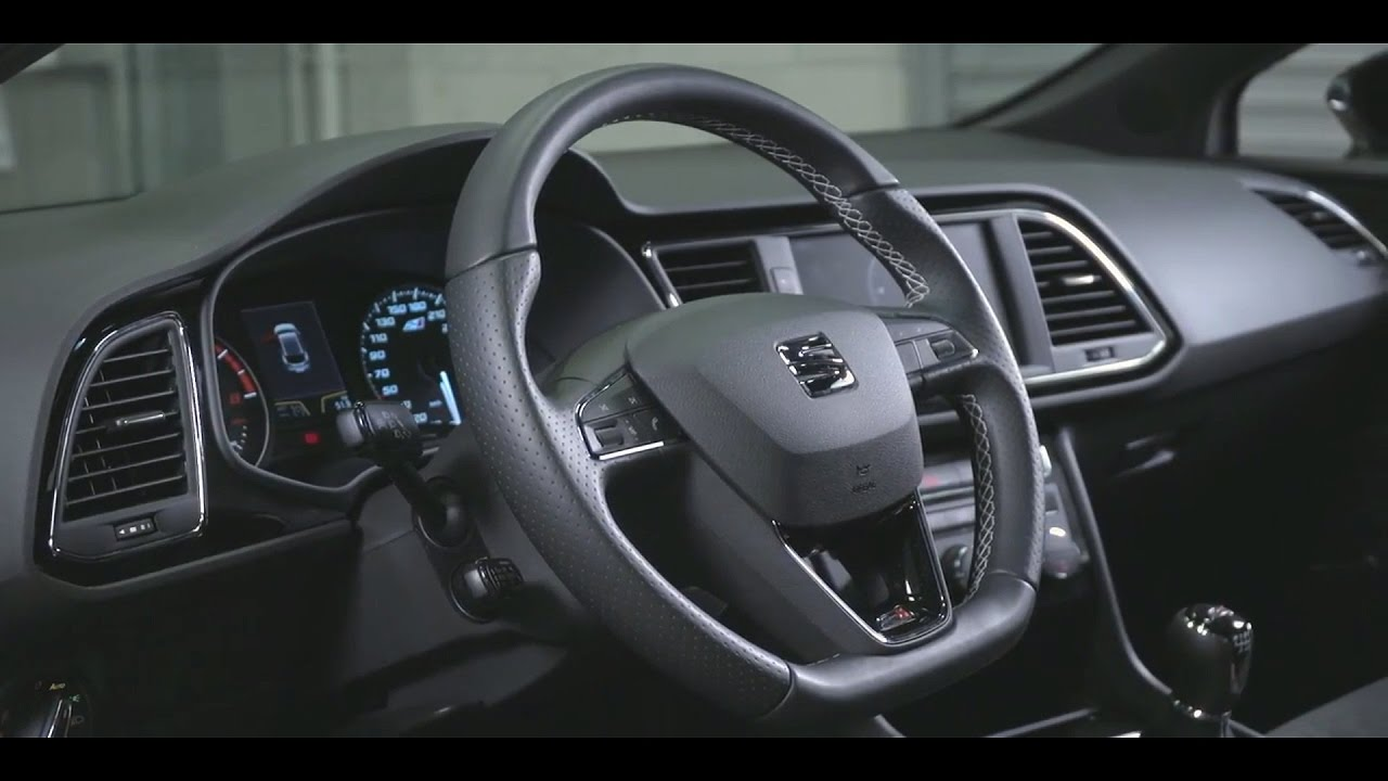 2017 seat leon cupra 300 interior youtube for Seat leon interior