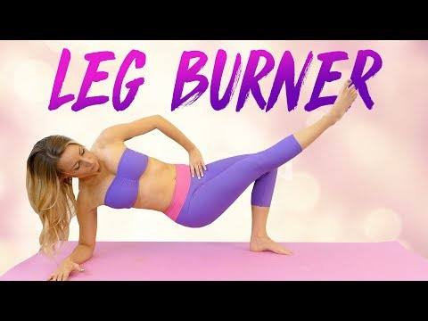 Slim Legs & Inner Thighs with Becca ♥ Yoga Workout, 20 Minutes At Home Fitness, Beginners Thigh Gap