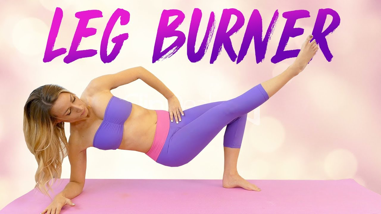 Slim Legs & Inner Thighs with Becca ♥ Yoga Workout, 50 Minutes At Home  Fitness, Beginners Thigh Gap