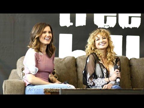 EVENT Sophia Bush & Ashley Rickards at Return To Tree Hill