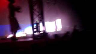Nadia Ali - Rapture (Tristan Garner Remix) @ Pure Future White - Vilnius Arena Show 2011-05-07