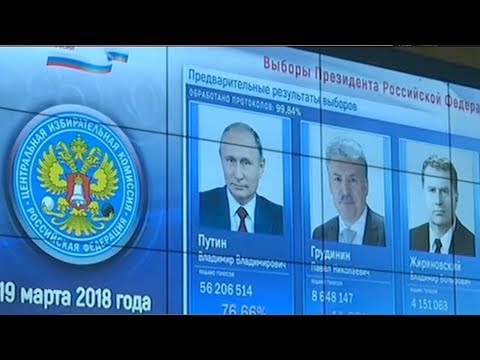 Vladimir Putin wins fourth term with record vote