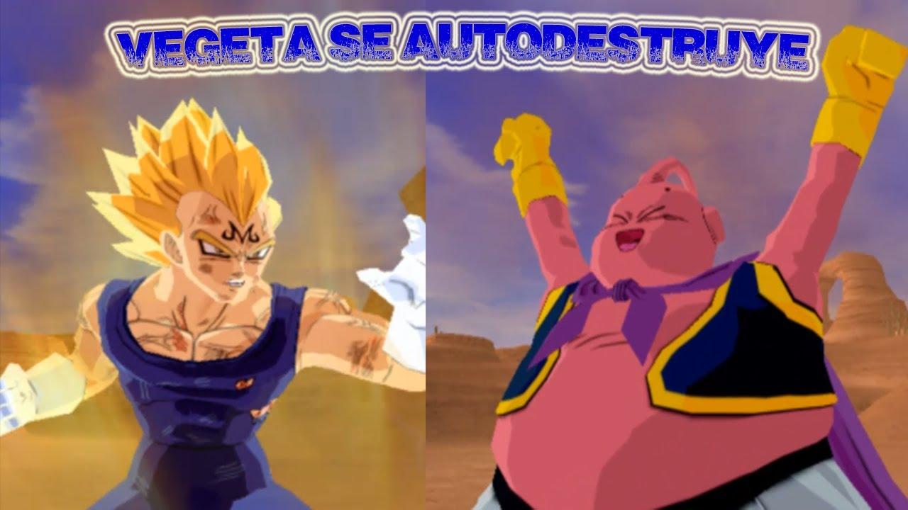 Dragon Ball Z Budokai Tenkaichi 3 Version Latino | Vegeta Maligno vs Majin  Buu ( Saga Majin Buu )