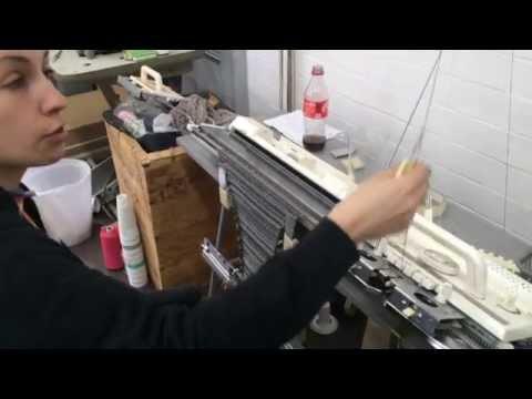 Work Based Experiance - Miriham Griffis Knit Wear Artist : Observation 2
