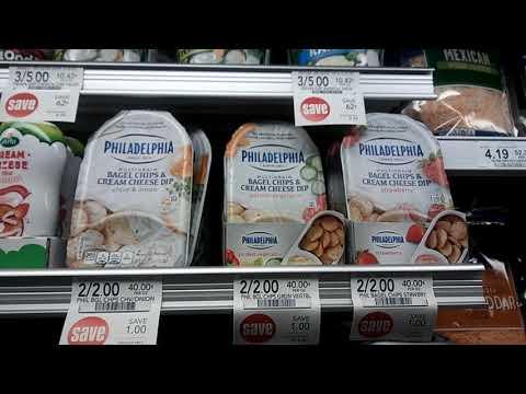 Philadelphia Multigrain Bagel Chips & Cream Cheese Dip 50¢ each