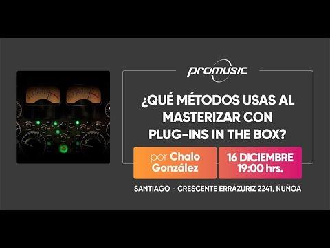 ¿Qué métodos usas al mastering con Plug Ins in the box? por Chalo González