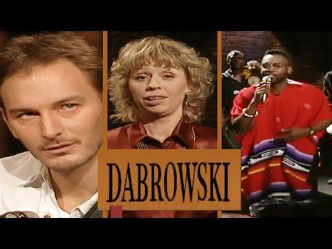 DABROWSKI med Maradona, Amanda Ooms, Tomas ledin, Dr Alban m fl från 1990