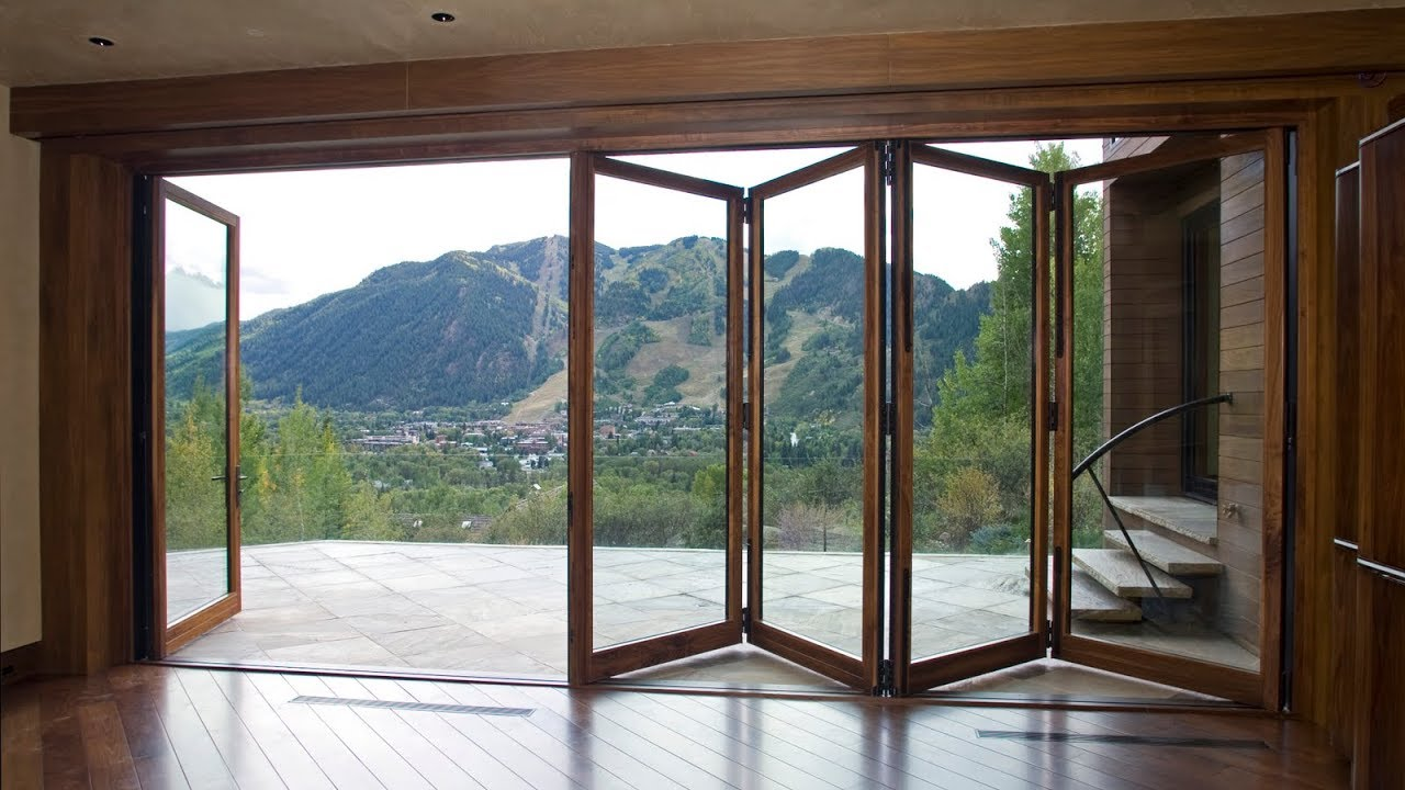 Folding French Doors Exterior for Home Ideas - YouTube