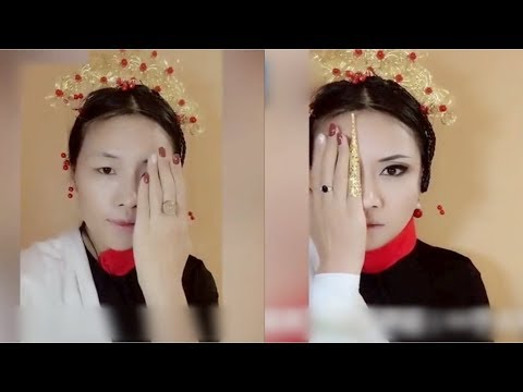 Woman transforms into characters from popular Chinese period drama streaming vf