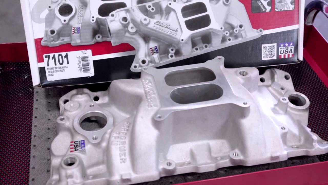 Small Block Chevy Engine Build: Intake System