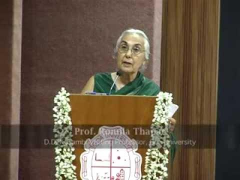 Public Lecture by Prof. Romila Thapar under Goa University Visiting Research Programme