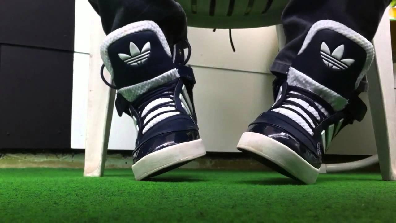 f4633f375f07eb 2 ways to wear ADIDAS AR 2.0 Sneaker ---way 1 - YouTube