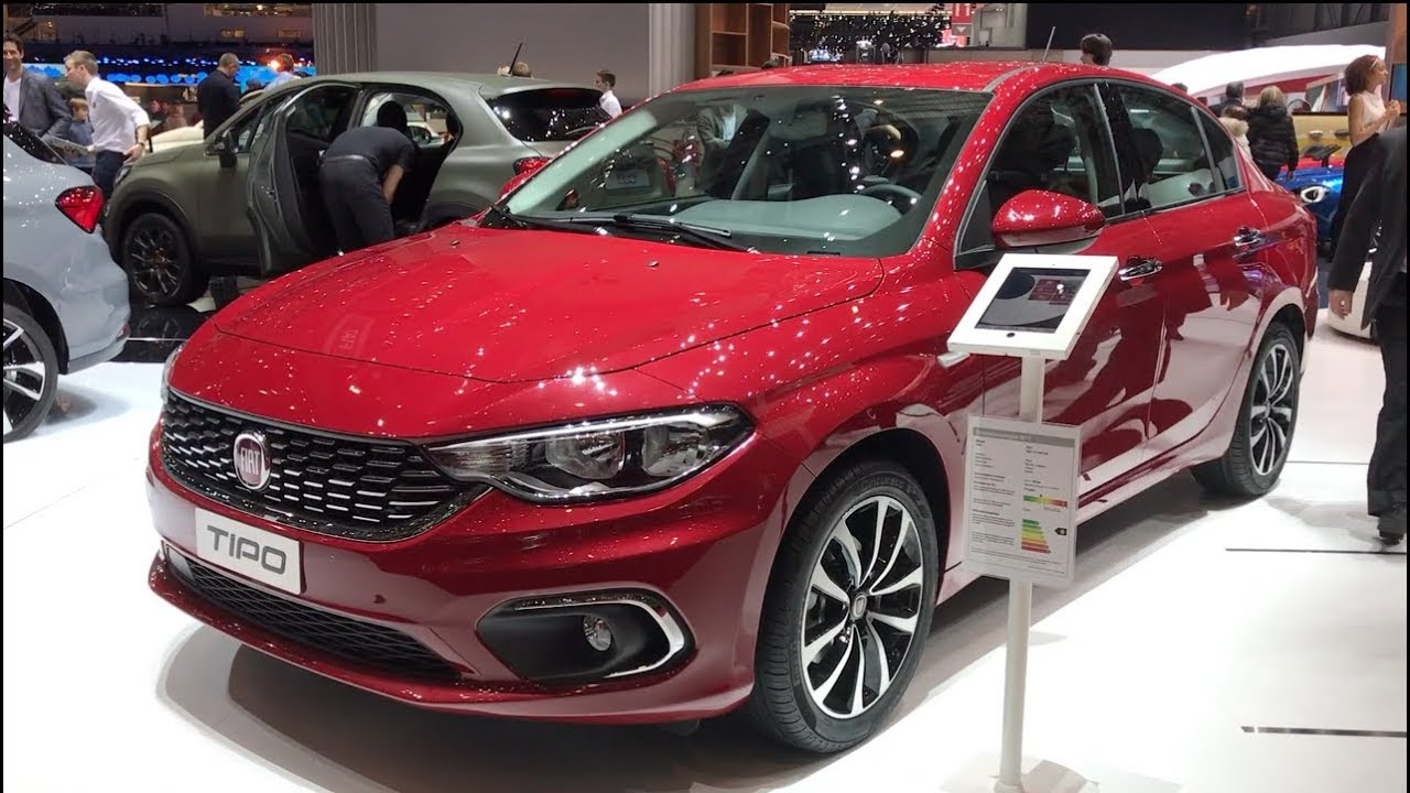 fiat tipo sedan 2017 in detail review walkaround interior. Black Bedroom Furniture Sets. Home Design Ideas