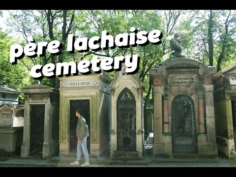 EXPLORING CEMETERY PERE LACHAISE