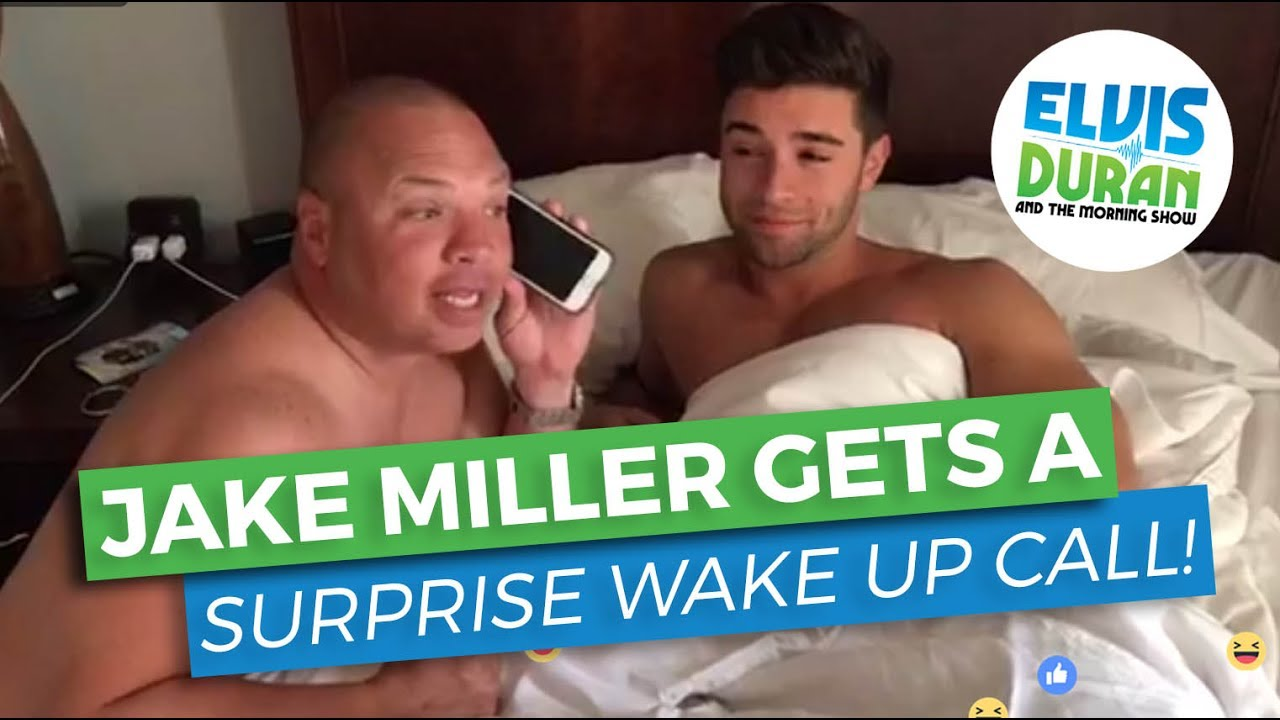 Jake Miller Gets An Unexpected Guest In His Hotel Room