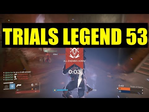 "Trials Of Osiris LEGEND -""Highlights"" & Clutches Ep. 53"