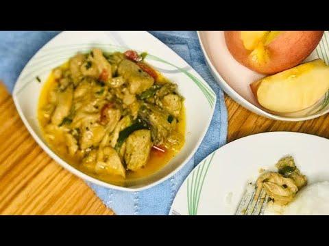 recette-facile-du-blanc-de-poulet-À-la-crÈme-fraÎche-et-aux-champignons
