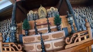 佐和山にある天寧寺の五百羅漢。ひとつとして同じ表情はなく、それぞれ...