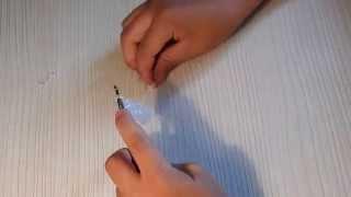 Видеоурок: плетем на крючке очень красивый браслет из резинок Rainbow Loom