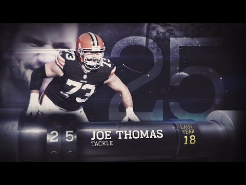#25 Joe Thomas (OT, Browns) | Top 100 Players of 2015