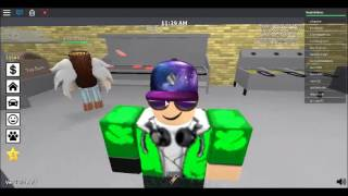 TINY TOWN/ ROBLOX ROLE PLAY/ FRY COOK