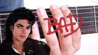 Bad - Michael Jackson - RiFF -  Violão Iniciante