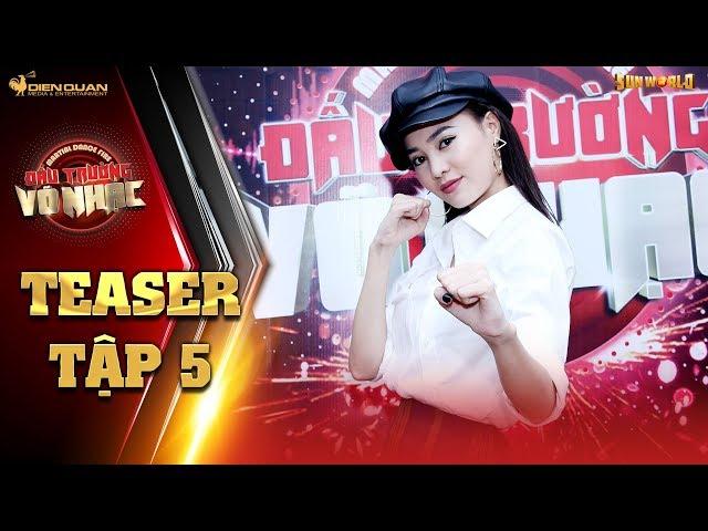 Đấu trường võ nhạc   teaser tập 5: Ninh Dương Lan Ngọc bất ngờ khi nhà mình bị chuyển thành võ đường