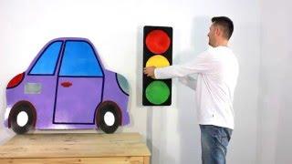 як зробити світлофор своїми руками для дітей