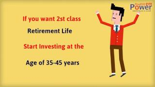 Want to Get Peacefull Retirement Life,Start Investing Early